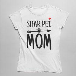 Shar pei mom női póló