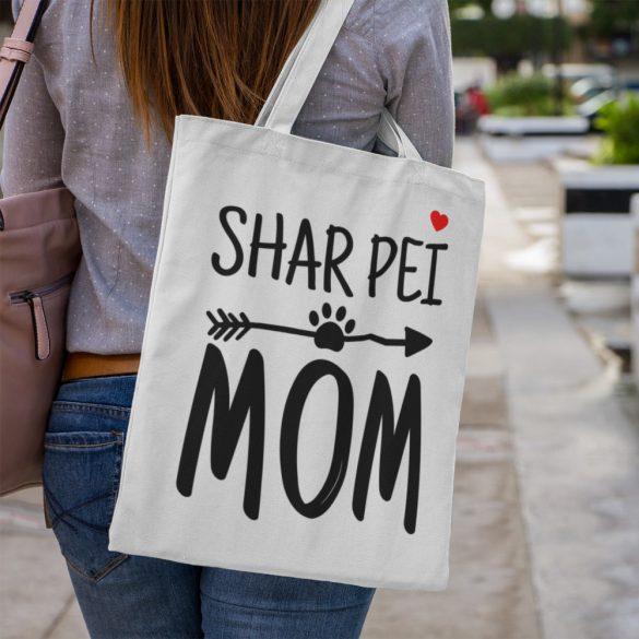 Shar pei mom vászontáska