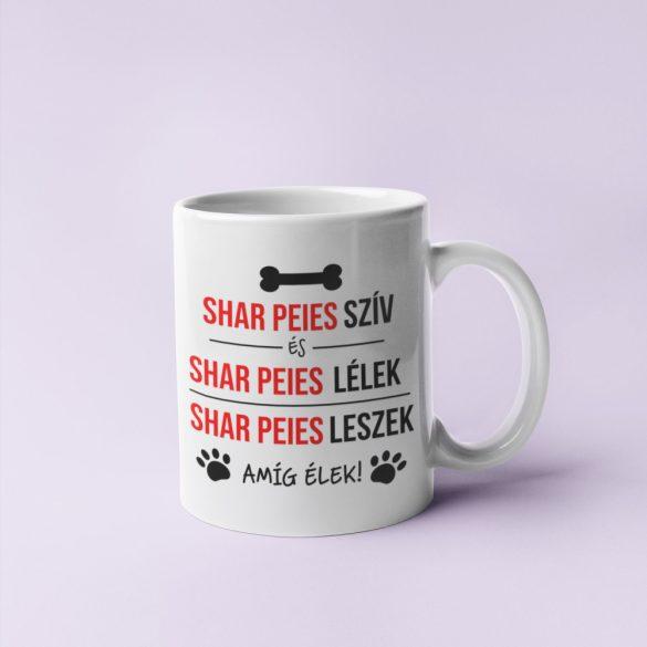 Shar peies szív és shar peies bögre