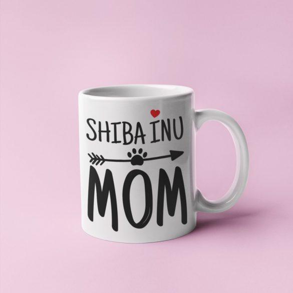 Shiba inu mom bögre