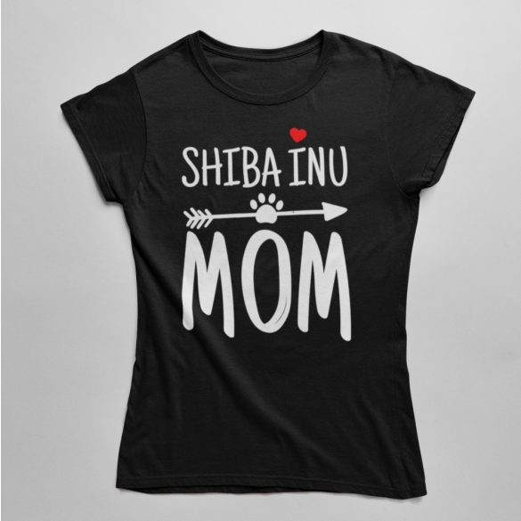 Shiba inu mom női póló