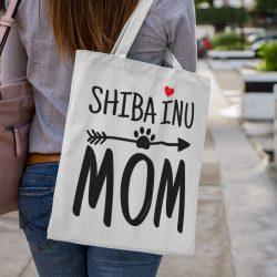Shiba inu mom vászontáska
