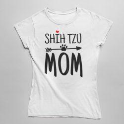 Shih tzu mom női póló