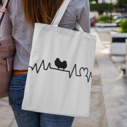Spicc heartbeat vászontáska