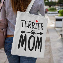 Terrier mom vászontáska