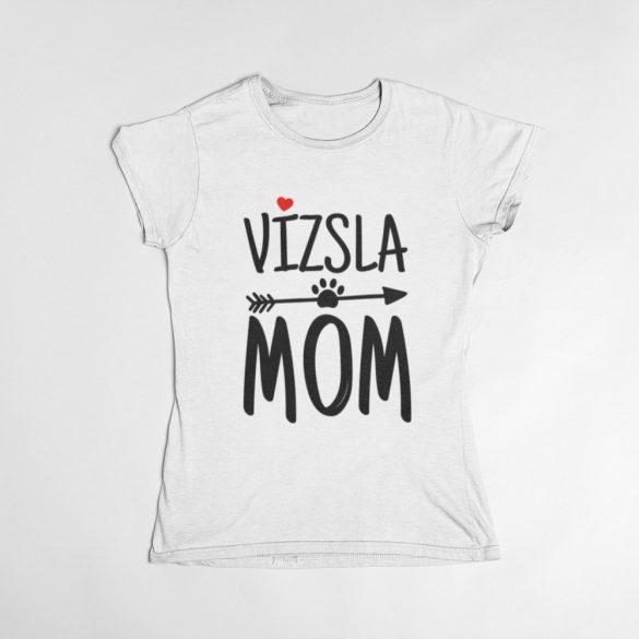 Vizsla mom női póló