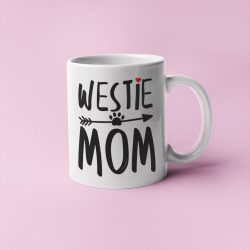 Westie mom bögre