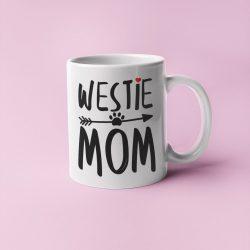 Westie mom bögre