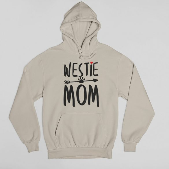 Westie mom női pulóver