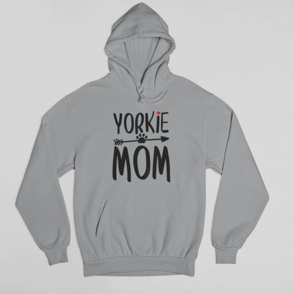 Yorkie mom női pulóver