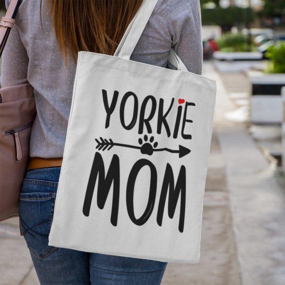 Yorkie mom vászontáska