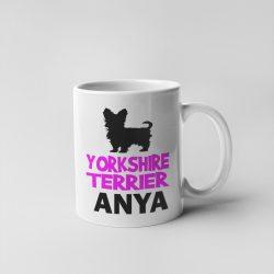 Yorkshire terrierr Anya Bögre
