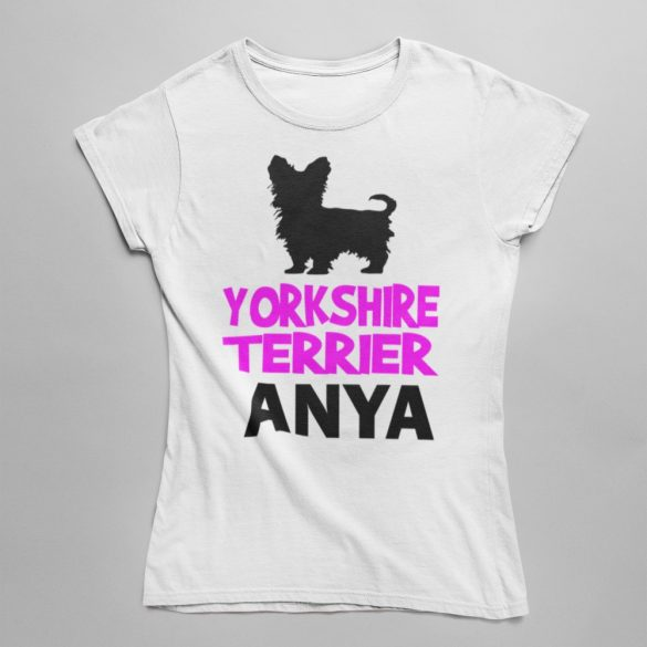 Yorkshire terrierr Anya Női póló